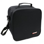 Black : KOSOX Oxford Square Insulated Lunch Tote Bag Picnic Cooler Bag with Shoulder Strap - Unisex Lunch Bag for Adults, Kids, Women, Men, Teens (Black)