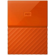 "HDD Extern Western Digital My Passport Slim, 2TB, USB 3.0, 2.5"" (Portocaliu)"