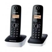 Panasonic Telefono inalámbrico Panasonic KX-TG1612 DUO Blanco