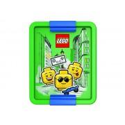 40521724 Cutie pentru sandwich LEGO Iconic albastru-verde