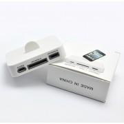 iPhone 5 Docka m/ 30pin och Micro USB (Vit)