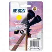 Epson Originale Expression Home XP-5100 Cartuccia stampante (502 / C 13 T 02V44010) giallo, 160 pagine, 4.28 cent per pagina, Contenuto: 3 ml