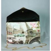 Borítés táska párizsi mintával