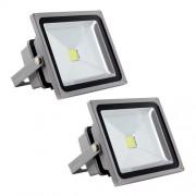 Unicoo Set of 2 High Power 50W Dr Light LED Flood Light