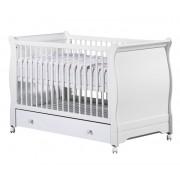 Sauthon Kit de transformation lit bébé évolutif Little Big Bed Elodie Blanc