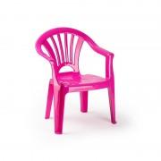 Merkloos Kinderstoelen roze kunststof 35 x 28 x 50 cm