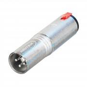 Neutrik - NA3MJ Adapter XLR-Klinke XLR male-Klinke female
