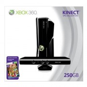 Microsoft Xbox 360 250GB + Kinect videoconsolas (Xbox 360, Negro)