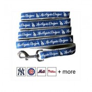 Pets First MLB Dog Leash, Los Angeles Dodgers, Medium