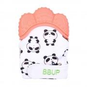Baby Guante Mordedera De Silicon Panda bebe Denticion 4 colores (Color Naranja) Baby Baby TBS201879-Naranja