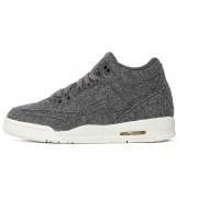 Nike Air Jordan 3 Retro BG Wool Grey