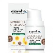 Essentiq Crema facial para piel seca con Siempreviva y Babasú