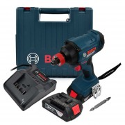 Llave de Impacto Inalámbrica Bosch GDX 180-LI + Baterías