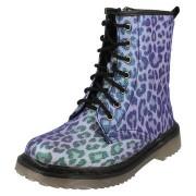 Ghetute biker model leopard lila