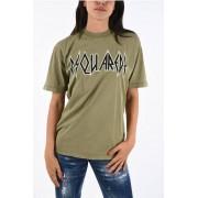 Dsquared2 T-shirt ROCK FIT Stampata taglia M