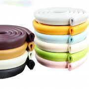 ''U' Style 2m New Baby bumper strip Baby Safety Corner protector Glass Table Edge Corner Guards Cushion Strip YYT196