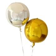 Baloane aurii rotunde 4D, pentru orice eveniment