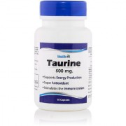 Healthvit Taurine 500mg 60 Capsules
