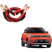 Auto Addict Premium Quality Car 500 Amp Heavy Duty Copper Core Tangle Battery Booster Cable 7.5 Ft For Mahindra XUV 300