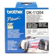 Etiquetas Papel Precortada Brother 17 X 54 Mm Multiproposito 400 Etiquetas