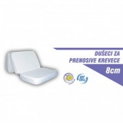 LUKA dušek za prenosivi krevetac 120x60x8cm kls8 - Luka line