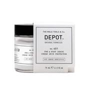 No. 401 creme protetor pré & pós barbear 75ml - Depot