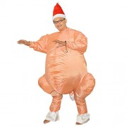 Electroprime® Inflatable Turkey Costume Fancy Dress Christmas Thanksgiving Accessory