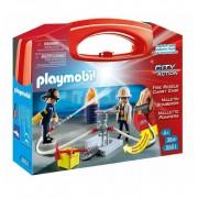 Maletin Bomberos - Playmobil