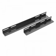 NaviaTec L Bracket for 600mm deep wall cabinet Black NVT-BKT-66B