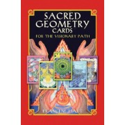 Sacred Geometry Cards for the Visionary Path [With 64 Full-Color Cards], Paperback