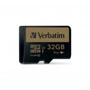 Tarjeta Micro SD 32 GB Verbatim 44033 Pro-Negro