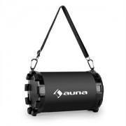 Auna Dr. Black Boom 2.1- bluetooth hangfal, USB, SD, AUX, akkumulátor (CS6-DR.-BLACK-BOOM)