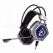 XIBERIA X13 auriculares para juegos virtuales 7.1-CH - gris plateado