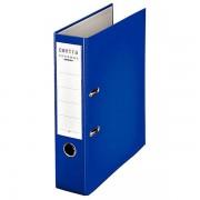 Certeo Ordner DIN A4 mit Kunststoffoberfläche - Rückenbreite 80 mm, VE 20 Stk - blau