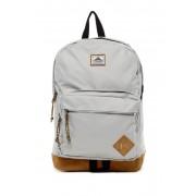 Steve Madden Solid Classic Sport Backpack LIGHT GREY