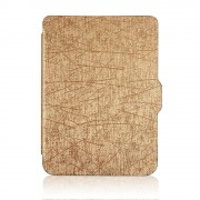 Shop4 - Kobo Clara HD Hoes - Book Cover Scratch Goud