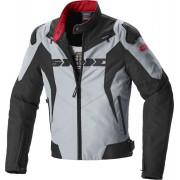 Spidi Sport Warrior Tex Textilní bunda na motocyklu L Černá Šedá