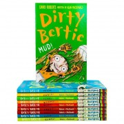 Stripes Dirty Bertie Collection 10 Books Set Pack Series 1 - Vol 1 to 10 - Ages 5-7 - Paperback - Alan MacDonald