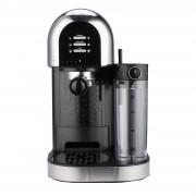 Espressor manual Heinner Coffee Dreamer HEM-DL1470BK, 1230-1470W, 20bar, , dispozitiv spumare lapte, rezervor detasabil lapte 500ml, rezervor apa 1.7L, 6 tipuri de bauturi, Negru