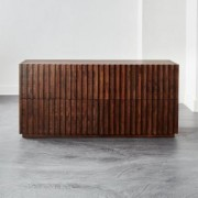 Parallel Wood Low Dresser by CB2