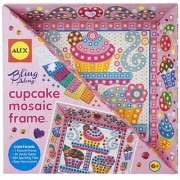 ALEX Toys Craft Bling Along Frames Cupcake