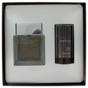 Calvin Klein Euphoria Eau De Toilette Spray 3.4 oz / 100.55 mL + Deodorant Stick 2.6 oz / 77 mL Gift Set Fragrance 452763