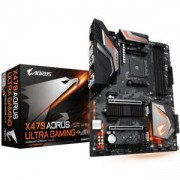 Дънна платка GIGABYTE X470 AORUS ULTRA GAMING Socket AM4, RGB Rusion, rev. 1.0, GA-MB-X470-AORUS-ULTRA