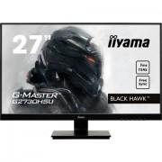 IIYAMA »G2730HSU-B1« gaming-ledscherm (68,6 cm / 27 inch, 1920x1080 pixels, Full HD, 1 ms, 75 Hz) - 199.99 - zwart