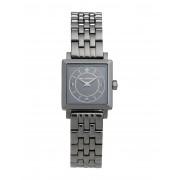 レディース KARL LAGERFELD PETITE SQUARE 腕時計 鉛色