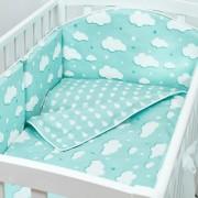 Fluffymoon Бортик в кроватку Fluffymoon Fresh Breeze 120х60 см
