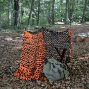 Tarnnetz Pro Crazy Camo Orange