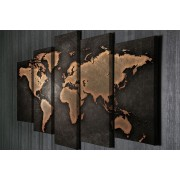 Tablou CANVAS 5 piese Geography