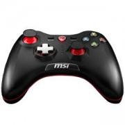 Геймпад MSI Force GC30, безжичен, съвместим с PC/Android 4.1, Черен, MSI GAME CONTROLLER FORCE GC30