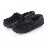 アルテミス バイ ダイアナ artemis by DIANA 【EMU Cairns Reverse Fur】エミュ ムートンスリッポン (黒スエード) レディース